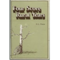 Four Score Rural Years by O.L. Furse (book)(Montgomery County/Linn County, KS)